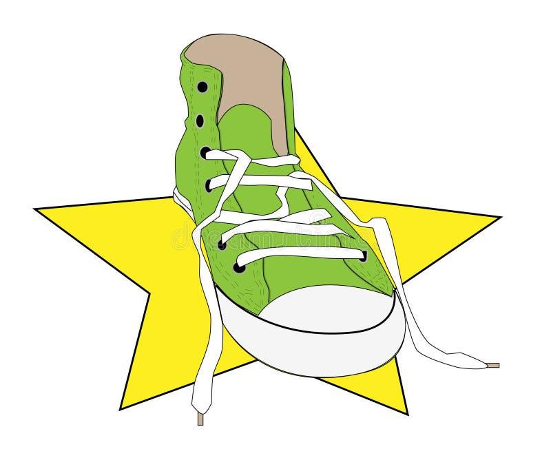 tenisówka ilustracji
