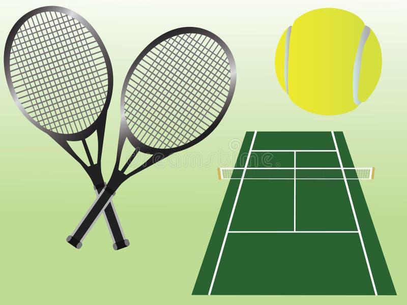 Download Tenis ilustracja wektor. Obraz złożonej z ilustracje - 12150178