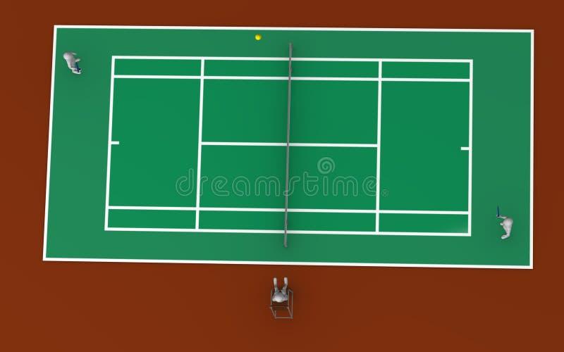 tenis 皇族释放例证