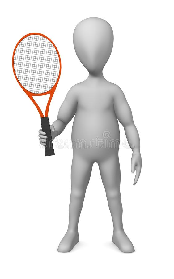 Download Tenis stock illustration. Illustration of court, male - 14856239