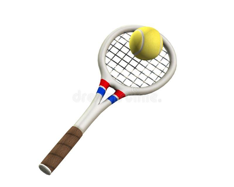 Tenis 2 ilustracji