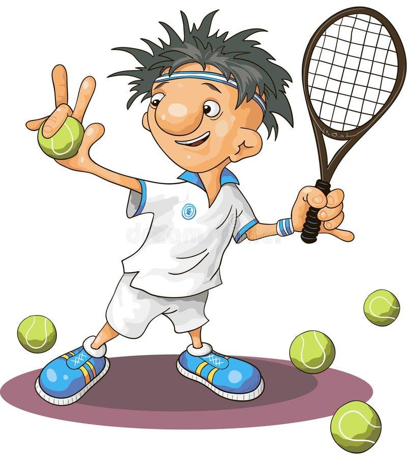 tenis ilustracja wektor
