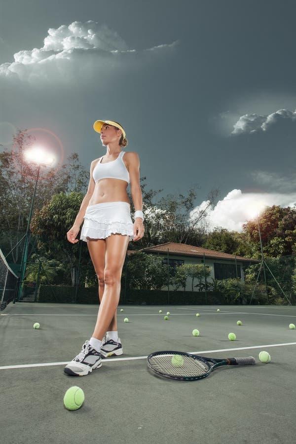 tenis zdjęcia stock