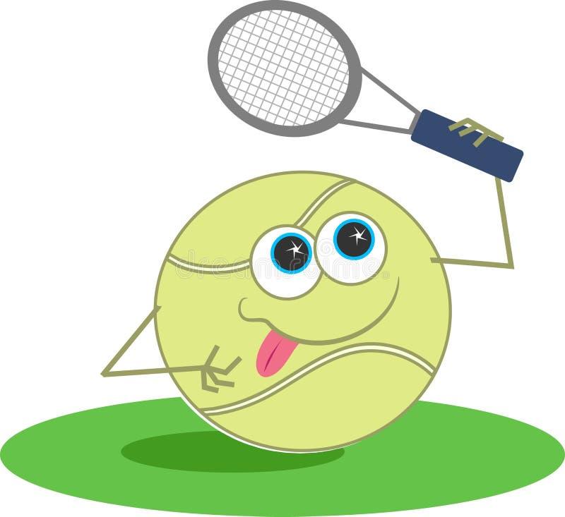 Download Tenis ilustracja wektor. Obraz złożonej z kanty, aktywność - 43729