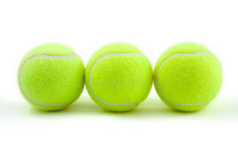 Tenis balls royalty free stock photography