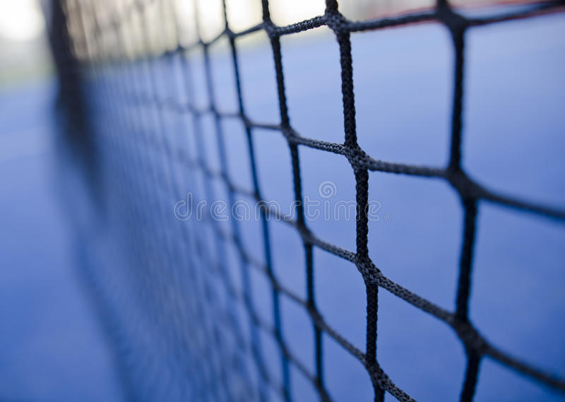 Tenis de la paleta o red del tenis foto de archivo libre de regalías
