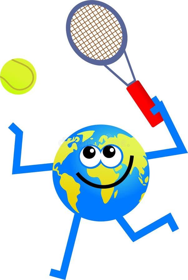 tenis globus ilustracja wektor