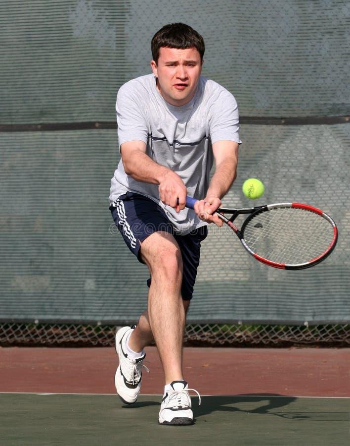 tenis gracza fotografia stock