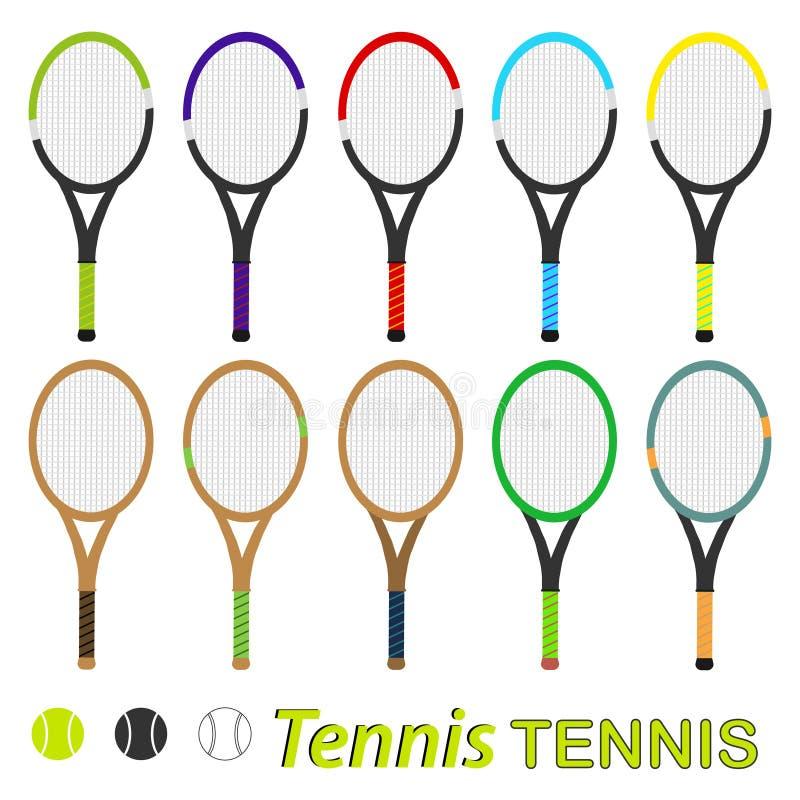 Tenis rakieta ilustracja wektor