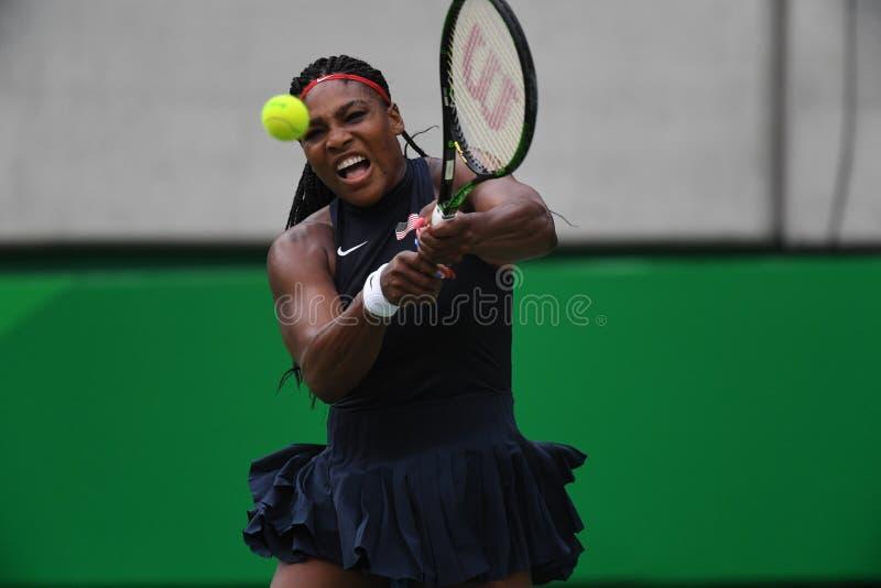 Tenis - Serena Williams obrazy stock