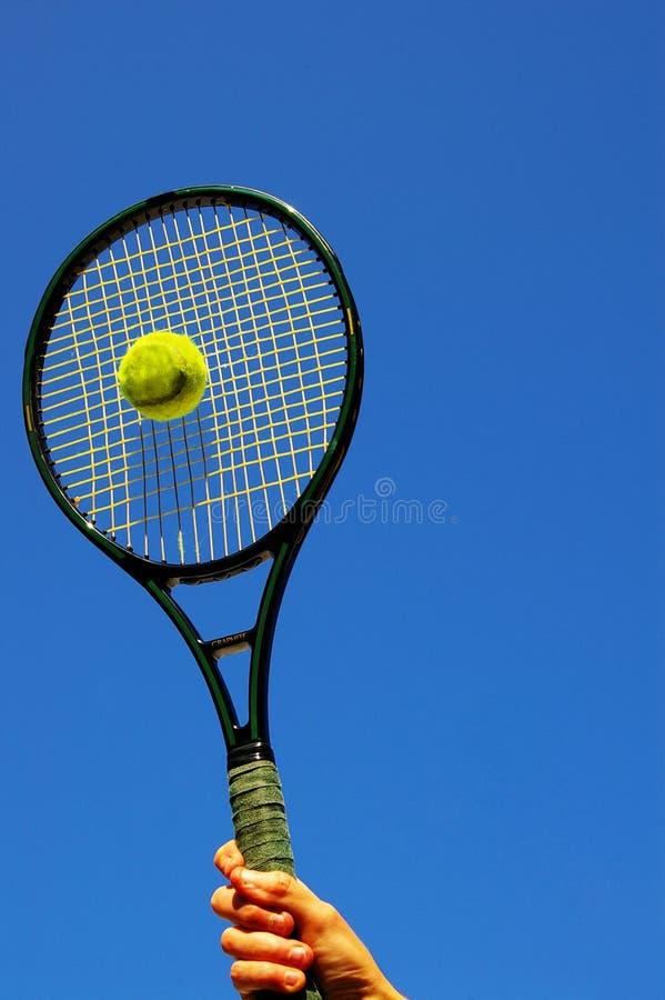 tenis serve zdjęcia stock
