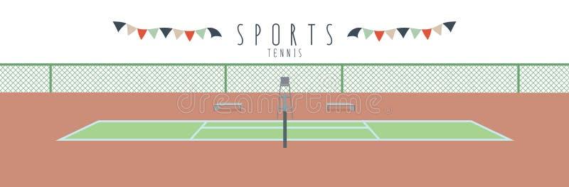 Tenis (sporty) royalty ilustracja