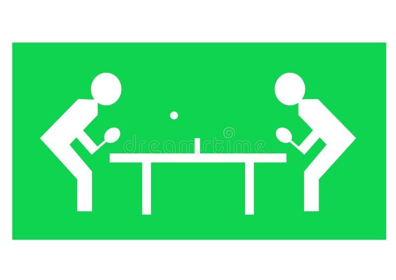 tenis stołowy ilustracji