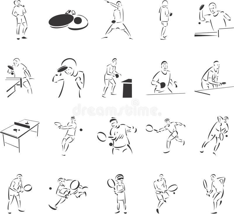 Tenis y tenis de vector libre illustration