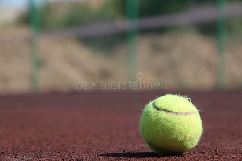Tenisowa piłka obraz stock