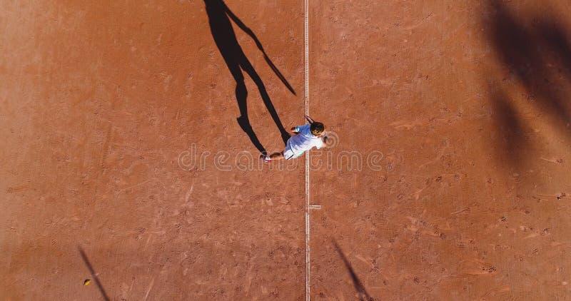 Tenisowi młodzi gracze zdjęcia royalty free