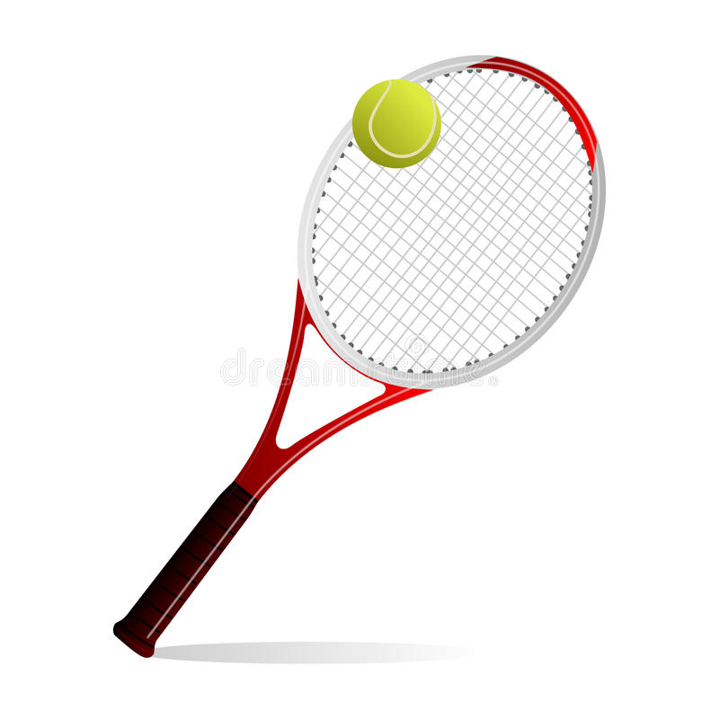 Tenisowy kant ilustracja wektor