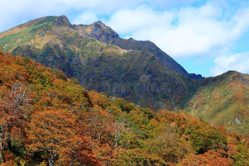 Tenjindaira en el otoño fotos de archivo