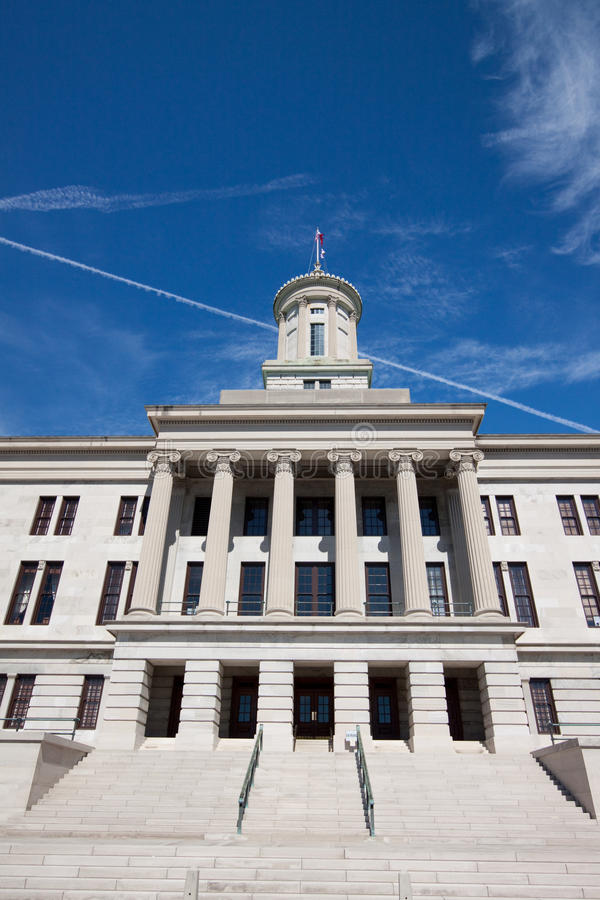 Tennessee Capitol stock image