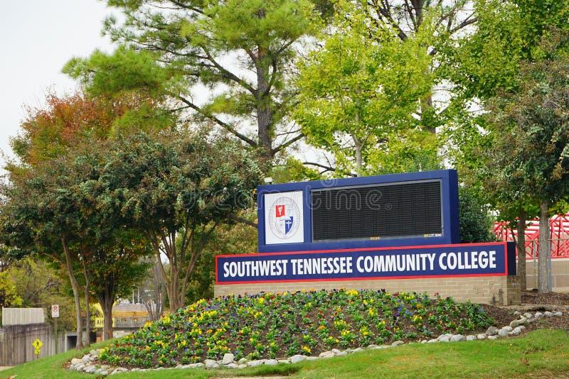 Tennessee Community College du sud image libre de droits