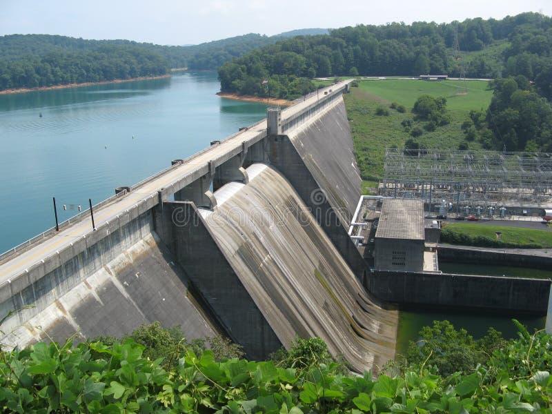 Tennessee Dam photographie stock libre de droits