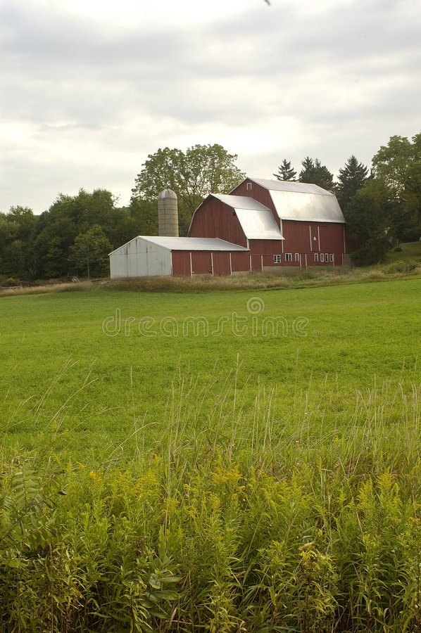 Tennessee Farm 2 stock photo