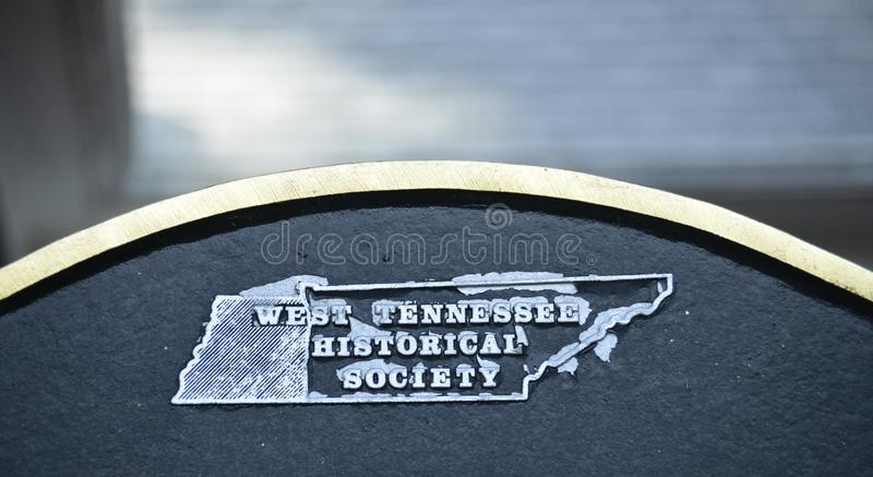 Tennessee Historical Society occidental images stock