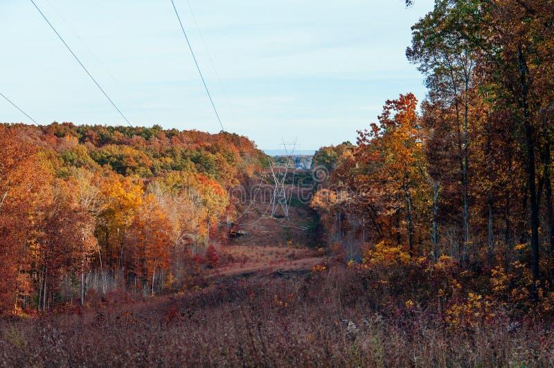 Tennessee Nov jesieni wczesna góra obrazy stock