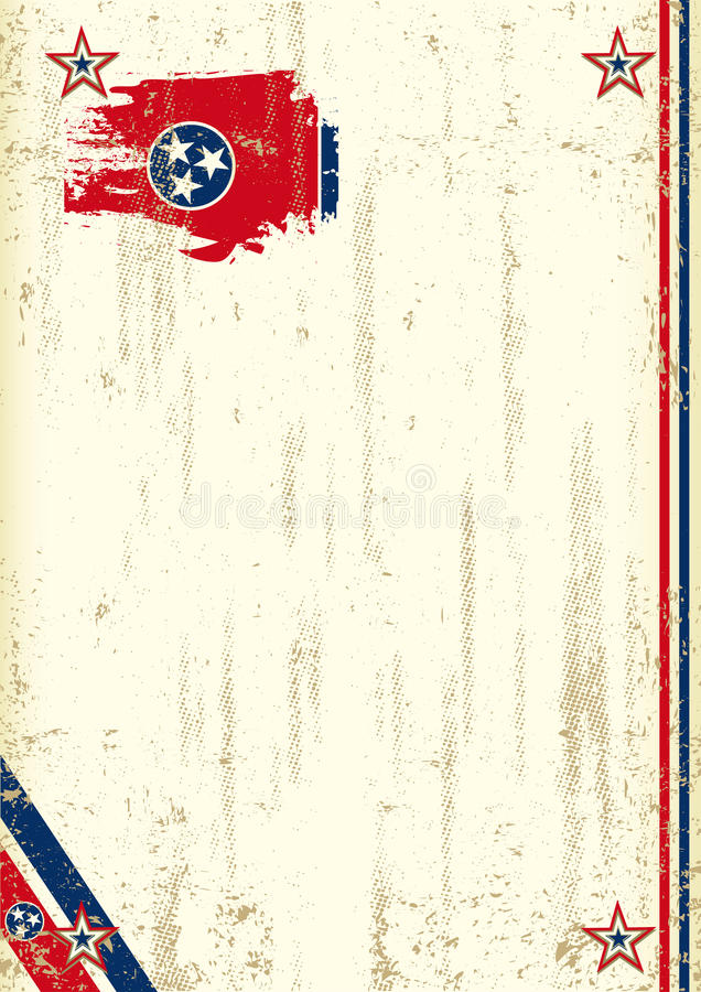 Tennessee retro background stock image
