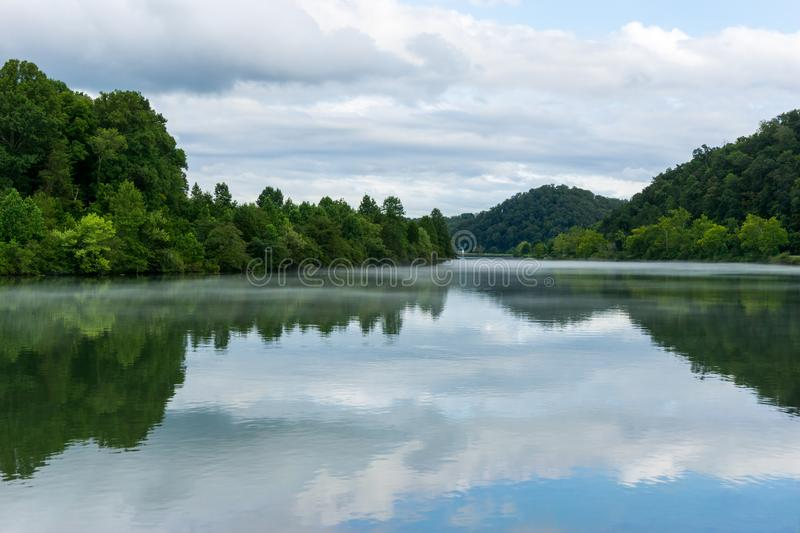 Tennessee River arkivfoton
