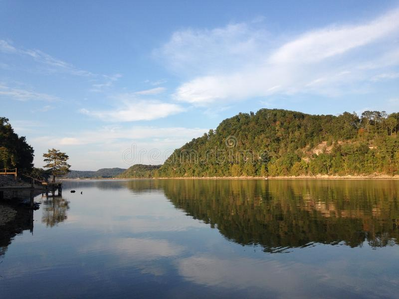 Tennessee River Front images libres de droits