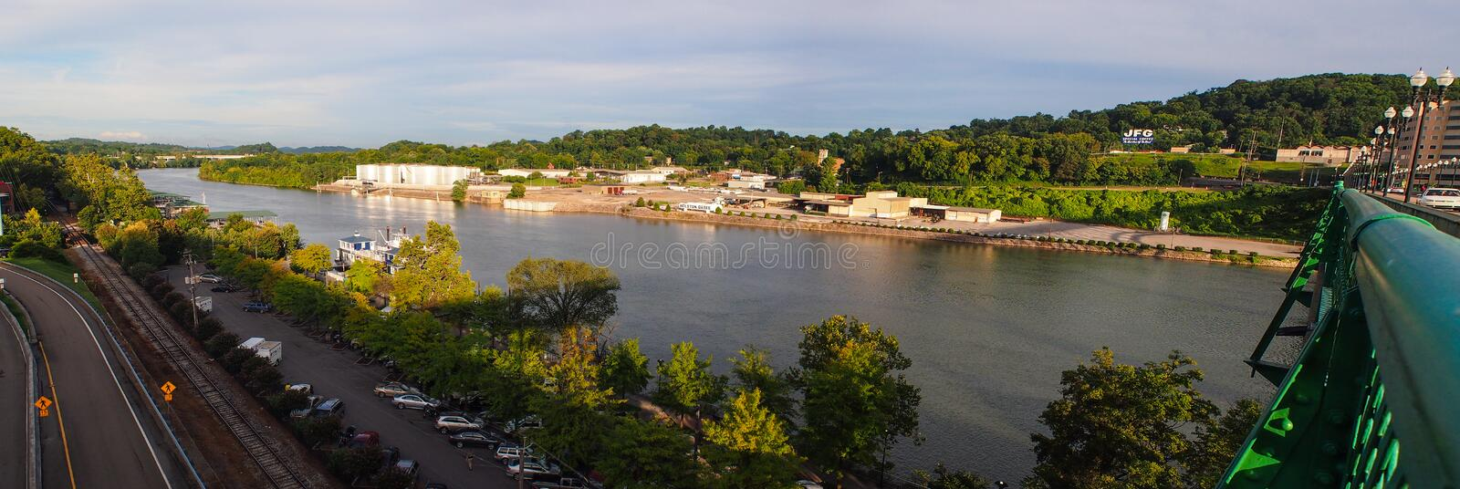 Download Tennessee River stock image. Image of architecture, nature - 33096629