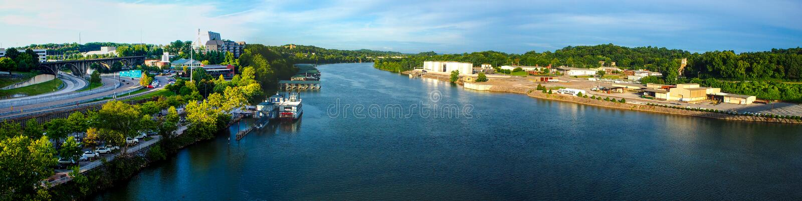 Download Tennessee River stock image. Image of scenic, downtown - 33096631