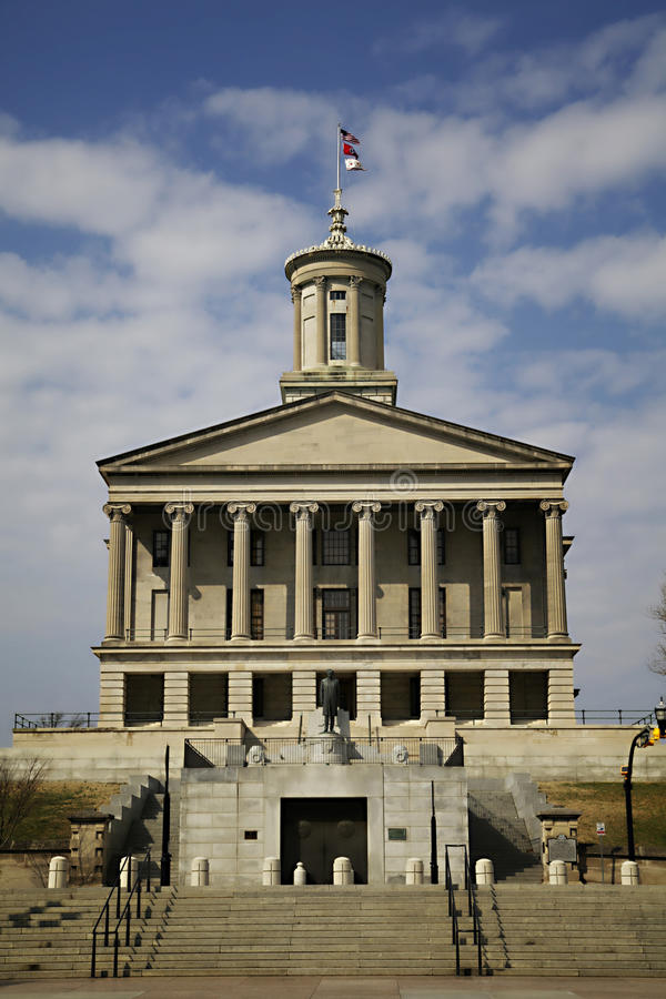 Tennessee stanu Capitol obrazy stock