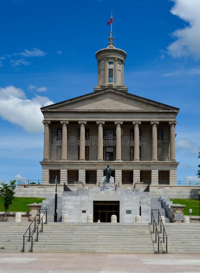 Tennessee State Capitol Building. This is a Spring picture of the Tennessee State Capitol Building located in Nashville, Tennessee. The building was designed by royalty free stock photos