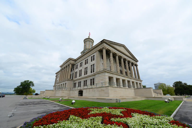Tennessee State Capitol, Nashville, TN, de V.S. stock fotografie