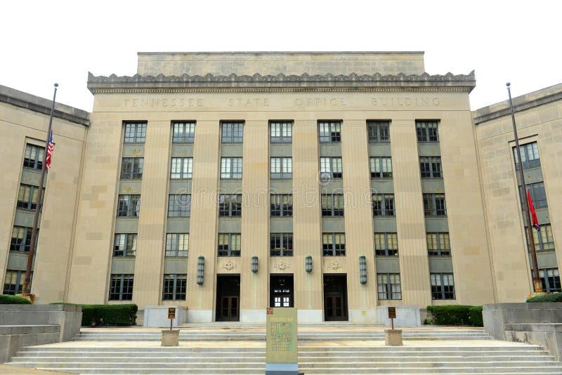 Tennessee State Office Building, Nashville, TN, Etats-Unis images stock