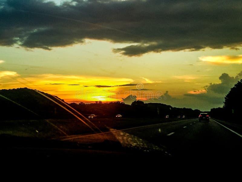 Tennessee Sunset imágenes de archivo libres de regalías