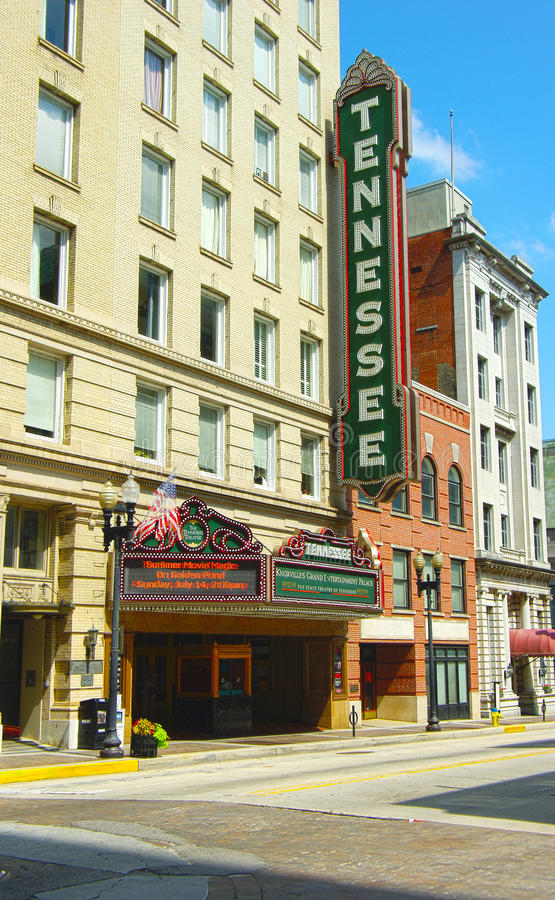 Tennessee Theatre obraz stock