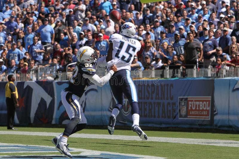 Justin Hunter. Tennessee Titans wide receiver Justin Hunter royalty free stock images