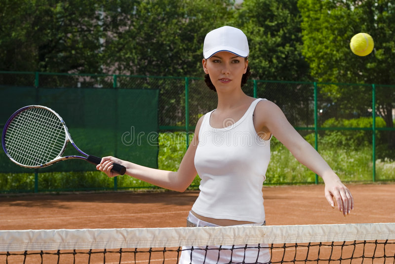 Tennis 02 stock fotografie