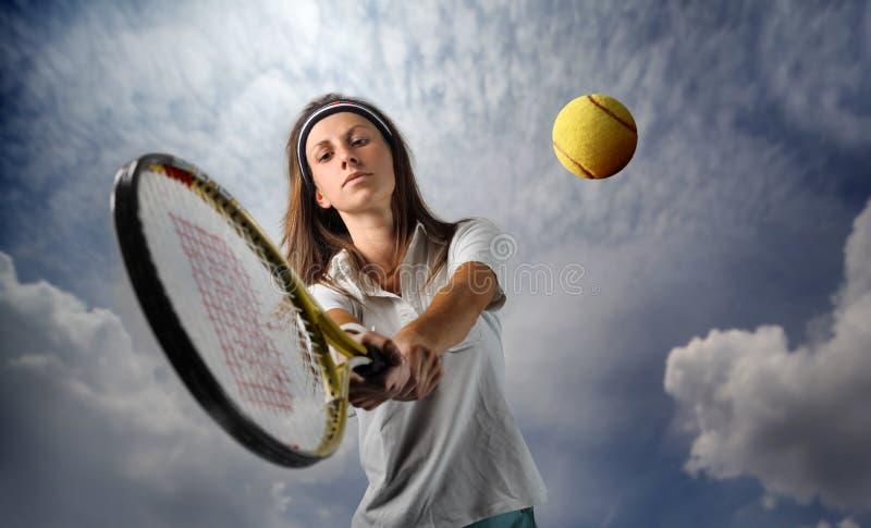 Tennis stock afbeelding