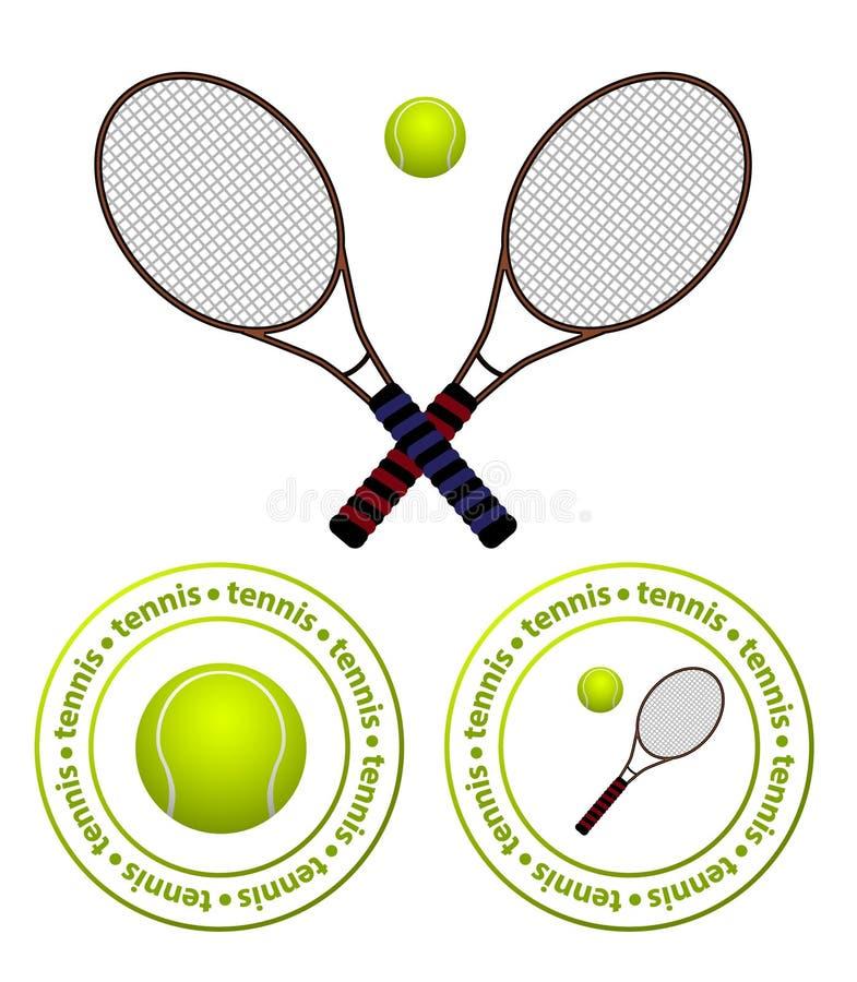 Tennis royalty-vrije illustratie