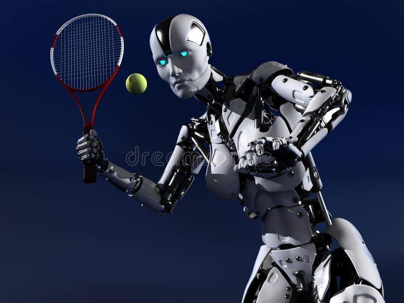 Tennis lizenzfreie abbildung