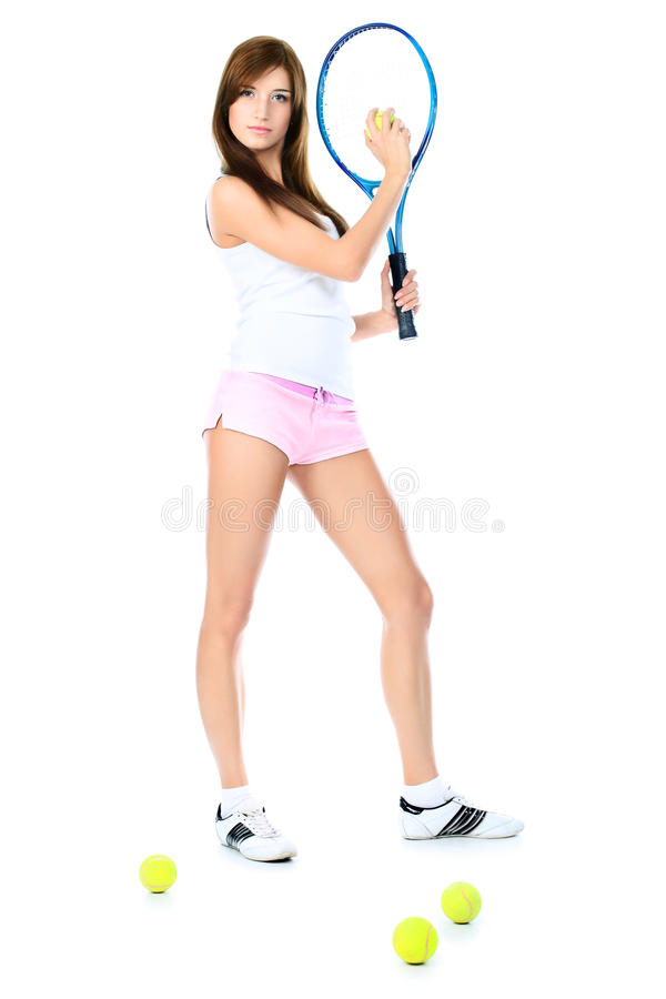 Download Tennis stock photo. Image of leisure, racket, people - 17272494