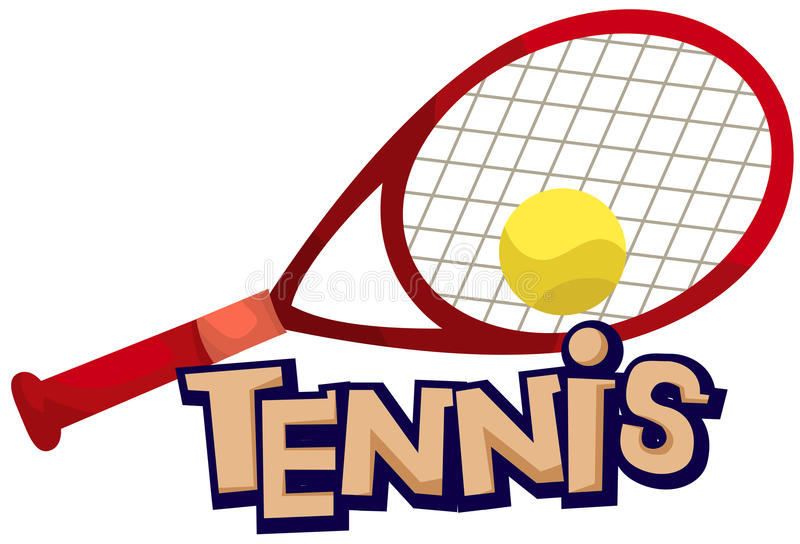 Download Tennis stock vector. Image of language, learn, composition - 20717807