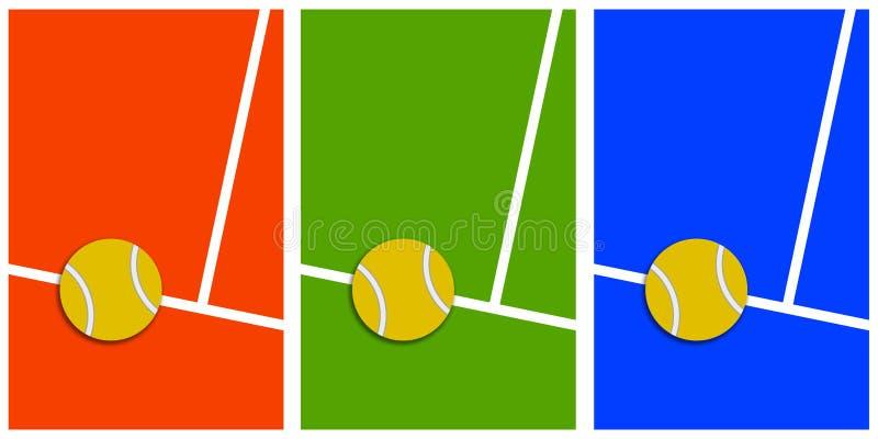 Tennis stock abbildung
