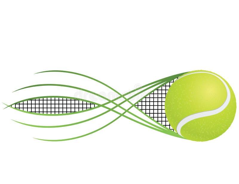 Tennis royaltyfri illustrationer