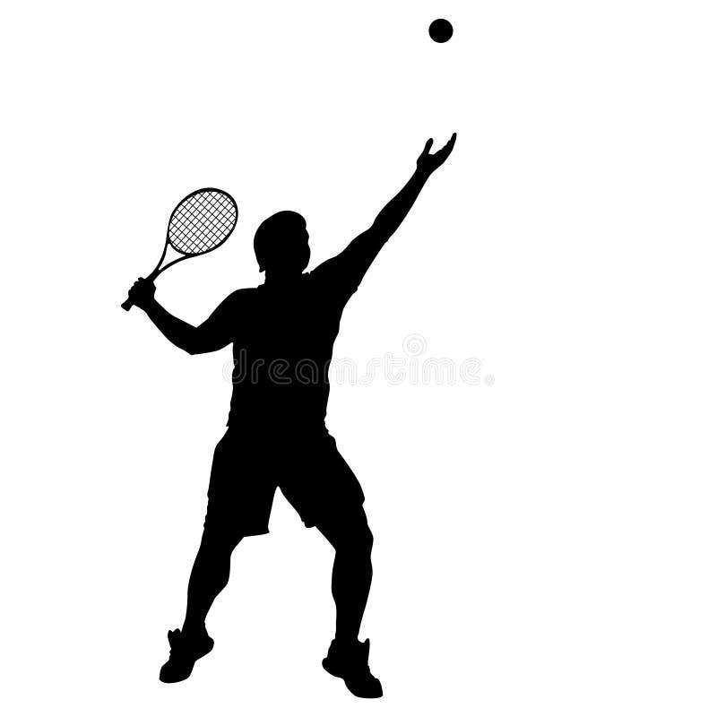 Tennis vector illustratie