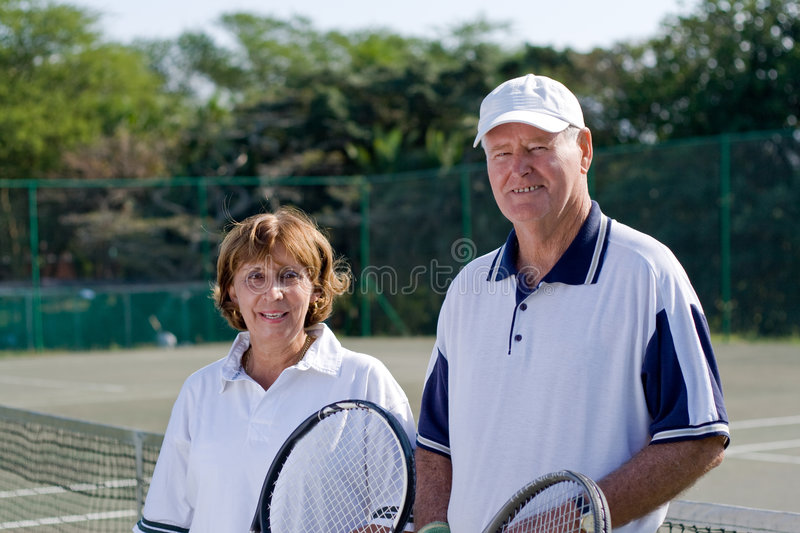 Tennis stockfotos
